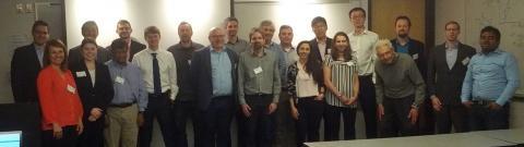 23rd NECST Consortium Meeting attendees