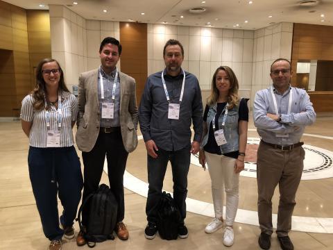 Carolina Furtado, Dr. Jeff Gair, Prof. Wardle, Prof. Hulya Cebeci (ITU), and Prof. Pedro Camacho (FEUP Univ. of Porto)