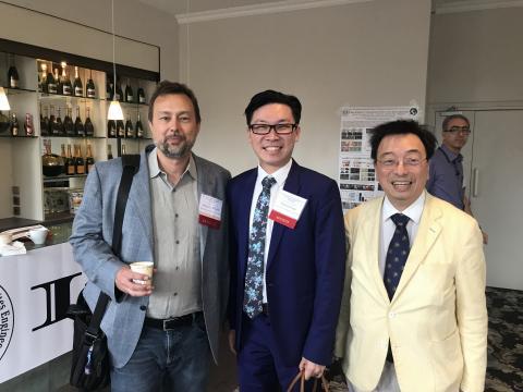 Professor Wardle & Denvid Lau & Professor Hui